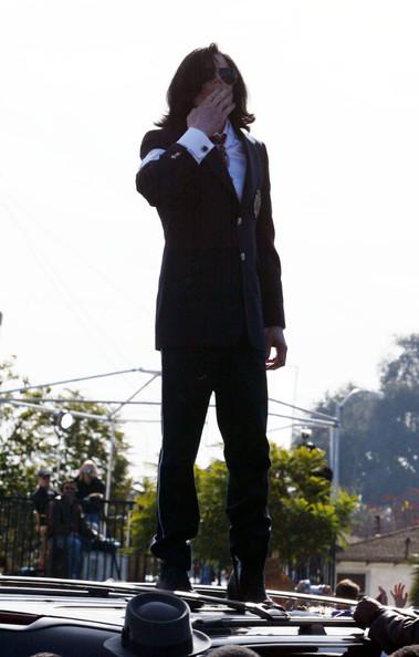 Michael+Jackson standing